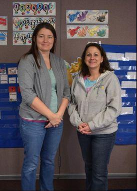 Studio Kids: Instructors Ms. Marsha and Ms. Angi