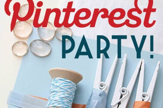 Invitation to a Pinterest Party