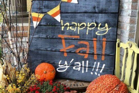gorgeous fall craft ideas